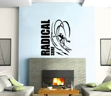 Wall Sticker Vinyl Decal Radical Surf Extreme Water Sports ig1243