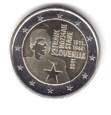 """ESLOVENIA SLOVENIA 2 EUROS 2011 """" FRANZ ROZMAN """" UNC"""