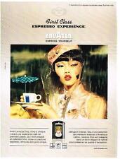 PUBLICITE ADVERTISING   2006   LAVAZZA   café CLUB