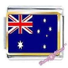 DAISY CHARM Picture Italian Charm - AUSTRALIAN FLAG