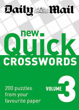Daily Mail New Quick Crosswords vol 3 BRAND NEW BOOK (Paperback)