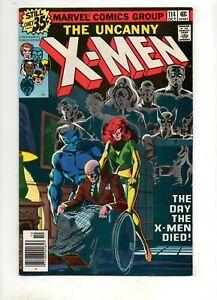 X-Men #114 HIGH GRADE NM- 9.2!! The X-MEN are DEAD by JOHN BYRNE! Marvel 1978