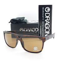 NEW DRAGON Roadblock sunglasses Matte Tortoise Polarized Brown 245 AUTHENTIC