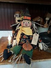 Primitive country Farmhouse fall scarecrow doll
