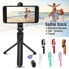 Extensible Selfie Palo Trípode bluetooth Inalámbrico Remoto Para iOS Android