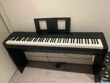 More details for yamaha p45 + stand digital piano