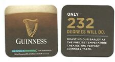 Two Beer Mats .Get The Facts , ***Guinness and Harp***