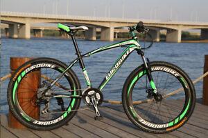 Brand New 2020 Cyber EuroE100 Black&Green  26 inch 21 sp  Mountain bike