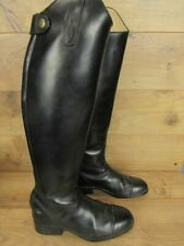 Ariat Black Leather Womens Tall Dressage Equestrian Riding Boots 6