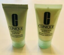 Clinique Foaming Facial Soap - Creme Mousse - (Set Of 2) 1fl oz each - NEW