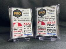 315Hz 333Hz 400Hz 1kHz 3kHz 3.15kHz Test Calibration Cassettes Speed Dolby Level