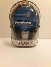 Sony MDR-V250V Series Headphones with Volume Control MDRV250 See Description