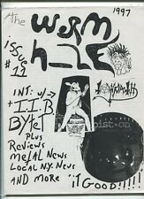 The Worm Hole  Issue 11 1997 Reviews Metal News Local N.Y. News  MBX17