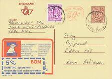 BELGIUM AARTSELAAR 1 2630 SC 1982 Postal Stationery 6+0,50F+1F PUBLIBEL 2713 N