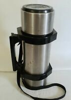 Igloo Thermos #1617 Stainless Steel 1 Liter Vacuum Bottle  Hot/Cold Travel Mug