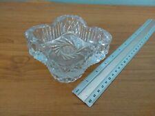 Ashtray cut Glass 4 inches
