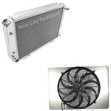 "Ford Granada Aluminum 2 Row Radiator, Shroud & 16"" Fan, EC138"