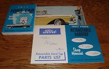 1957 Ford Car Shop Service Manual Owners Sales Brochure 12 Piece Lot 57 Fairlane