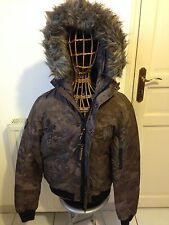 Redskins Veste Manteau Homme Dalil Bunker Camouflage Taille XL