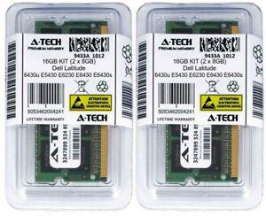 16GB 2 x 8GB 1600MHz Memory RAM for DELL LATITUDE 6430u E5430 E6230 E6430 E6430s