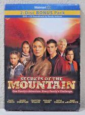 Secrets Of The Mountain (2-Disc Bonus Pack) (DVD+CD) BRAND NEW>FREE SHIPPING!