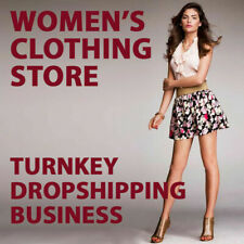 WOMENS CLOTHING Dropshipping Website Earn £50 PER SALE | FREE MARKETING + DOMAIN