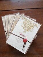 Etiquettes pour bouteilles de vin éditions d'art de Venise. 5 paquets