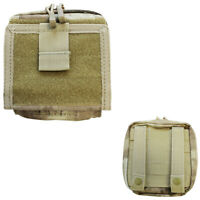 Tactical Map Pouch Molle ID Admin Chart Document Pouch - ATACS