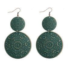 Alloy Earrings For Lady Dw-Eh-Hqe539 Bohemian Vintage Decorative Circle Fashion