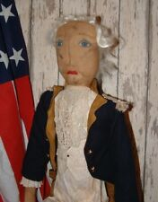 Primitive Folk Art Americana George Washington Doll Pattern