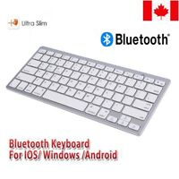 New Slim 2.4GHz Wireless Bluetooth Keyboard For PC Laptop Computer Macbook CA