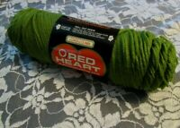 NEW COATS CLARK RED HEART Olive Green Yarn 3 oz Acrylic USA 651 1284491 6 4