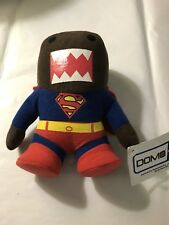 """Domo Plush Stuffed Toy Doll Animal Brown Kun Monster Superman Dc Limited 9"""" Cape"""