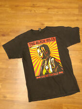 Obey Mens Black The Black Hills Are Not For Sale Graphic T-Shirt Size Medium