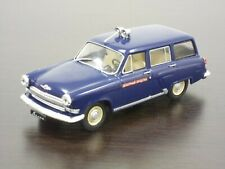 """1:43 GAZ-22 Volga """"ORUD-GAI"""", Special Issue """"Police"""" #08 DeAgostini Autolegend"""