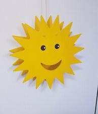 Sonne - Lampe - Kinderzimmer - Deckenleuchte / Deckenlampe - Holz