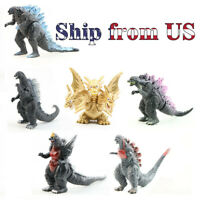 Godzilla King of the Monster Ghidorah Movable 6 Pcs mini Figures Toy Gift Set