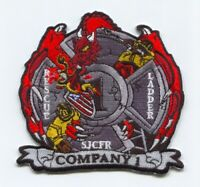Saint Johns County Fire Rescue Department Company 1 Patch Florida FL