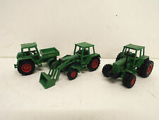 Lotto per OdL di MARKLIN Fendt Trattore x 3 LOOSE (bs1034)