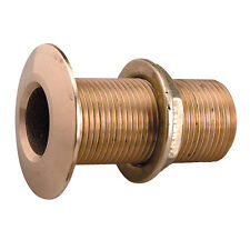 "PERKO 1"" THRU-HULL FITTING W/ PIPE THREAD BRONZE"