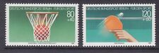 Germany Berlin 9NB221-22 MNH 1985 Basketball and Table Tennis Sports Set VF