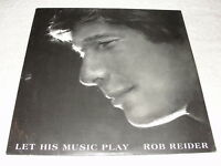 """Rob Reider """"Let His Music Play"""" 1980 Xian/Rock/Christian LP, SEALED!, Private"""