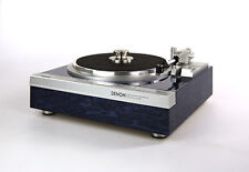 Restored Denon DP-47F Turntable Designer Piece Fully Automatic High-Gloss