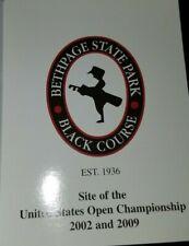 New 2002 2009 Bethpage Black Course Golf Scorecard Us Open Pga Usga Mint