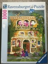 Ravensburger Puzzle Colorful Garden 1000 Piece 20 x 27 Inches 2010 Complete