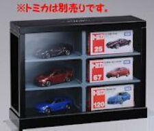 display Square Cool Black Tomica miniature Takara Tomy  box for car toy