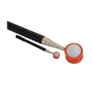 """JP Lann Pocket Golf Ball Retriever (Compact Size: 19"""" Closed Extends to 6' 7""""!)"""
