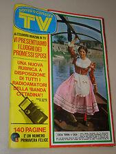 TV SORRISI CANZONI=1973/18=MARISA SACCHETTO=JEFFERSON AIRPLANE=NUOVI ANGELI=