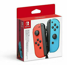 Nintendo Switch Joy-Con Controller Pair - Neon Red & Blue Next Day delivery
