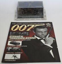 007 James Bond CITROEN pour vos yeux seulement 2 CV-Chase 1:43 coffret modèle de voiture